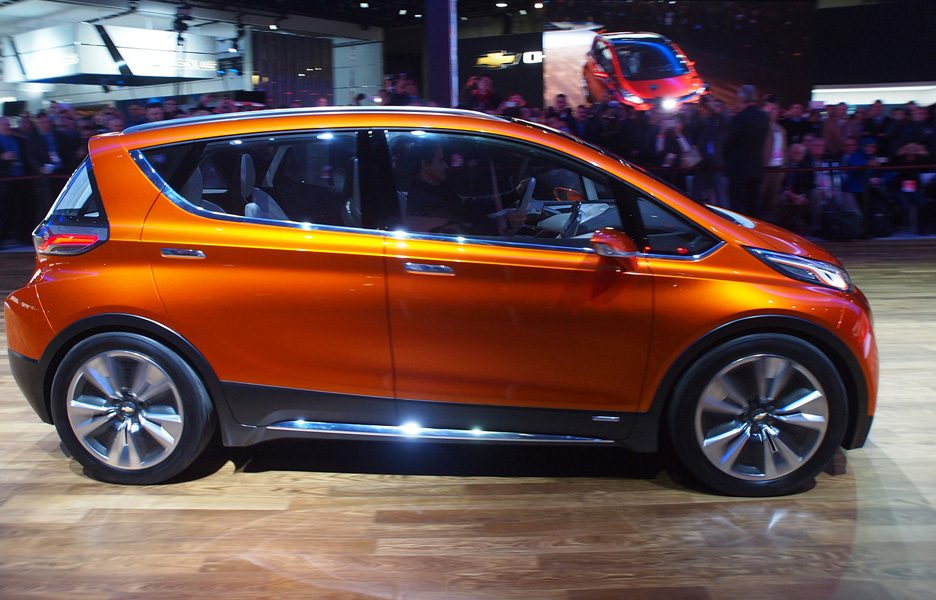 Salone di Detroit 2015 -Chevrolet Bolt