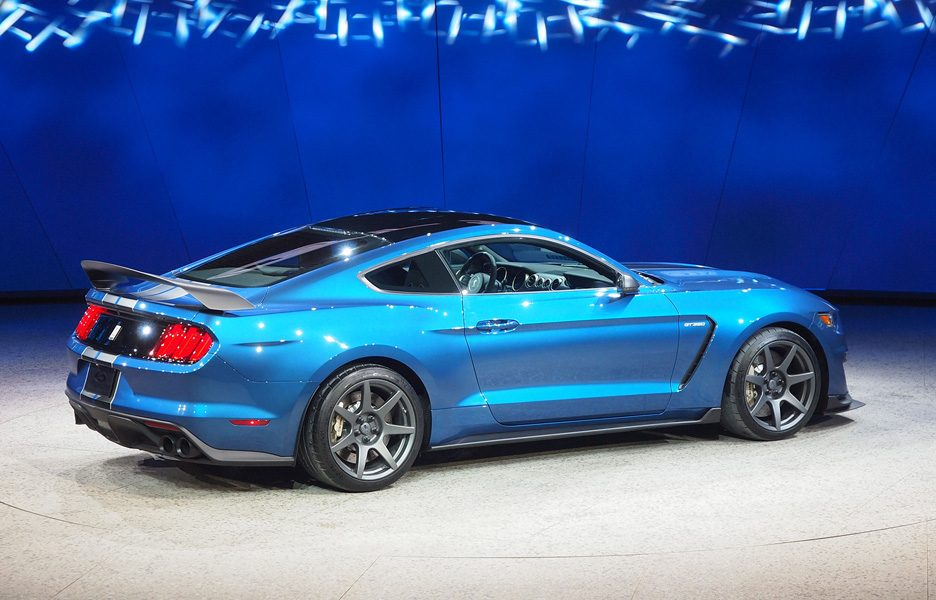 Salone di Detroit 2015 - Ford GT 350 R