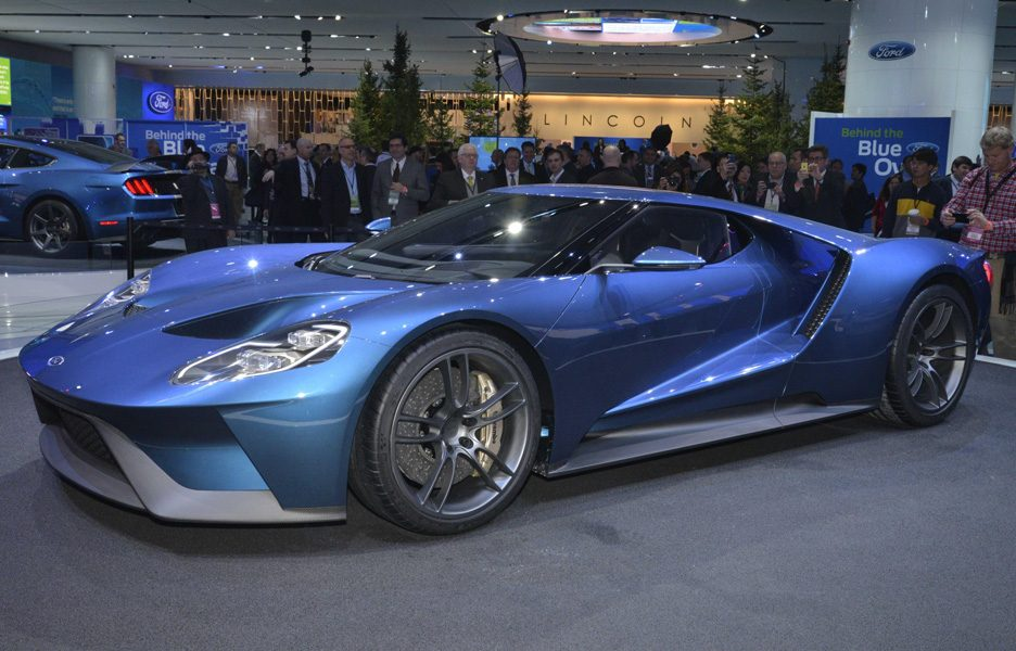 Salone di Detroit 2015 - Ford GT