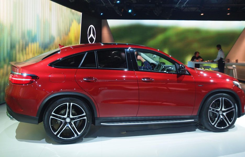 Salone di Detroit 2015 - Mercedes GLE Coupé.