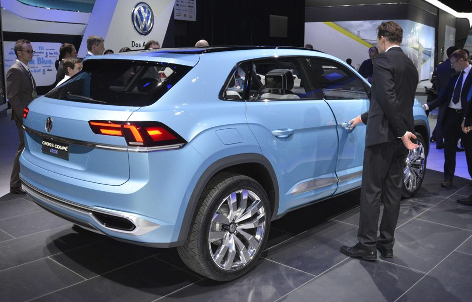 Salone di Detroit 2015 - Volkswagen Cross Coupé GTE