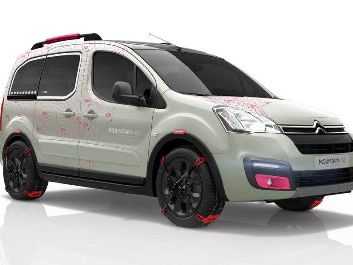 Citroen Berlingo Mountain Vibe COncept - Ginevra 2015
