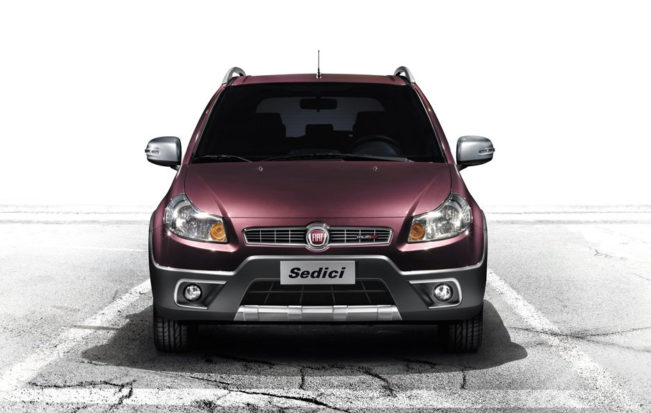Fiat Sedici restyling frontale