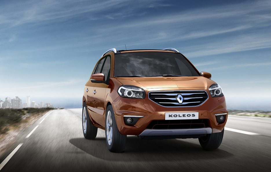 Renault Koleos restyling frontale