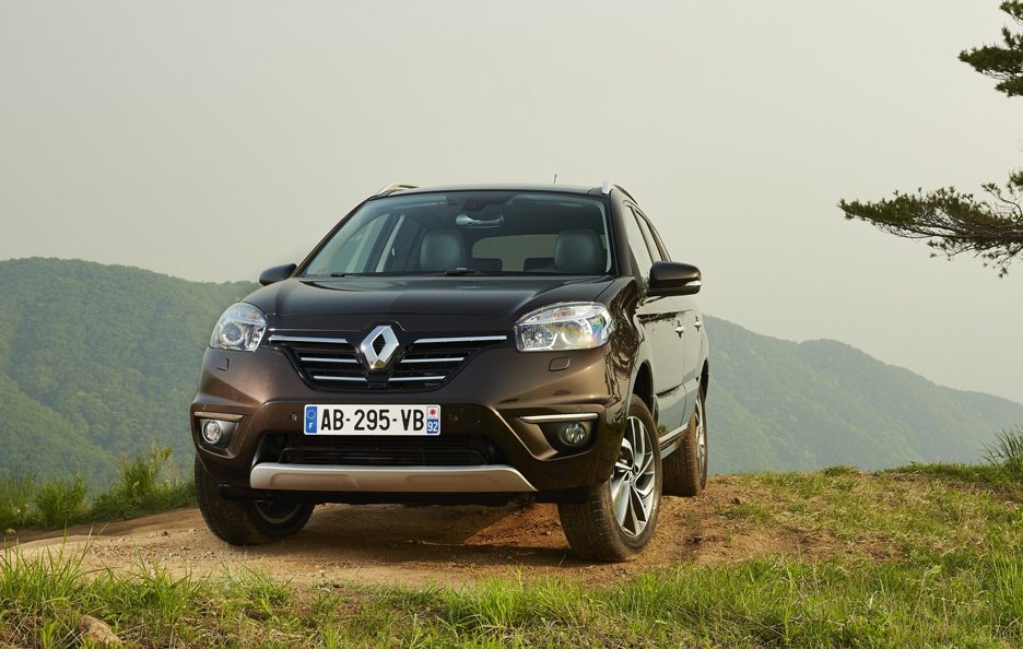 Renault Koleos secondo restyling frontale