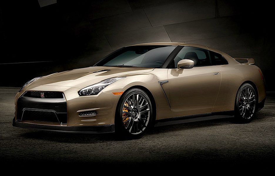 Nissan GT-R 45th Anniversary Gold Edition
