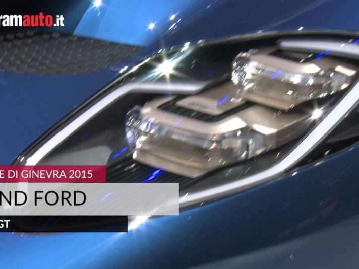Ford GT, la supercar Ford arriva a Ginevra 2015