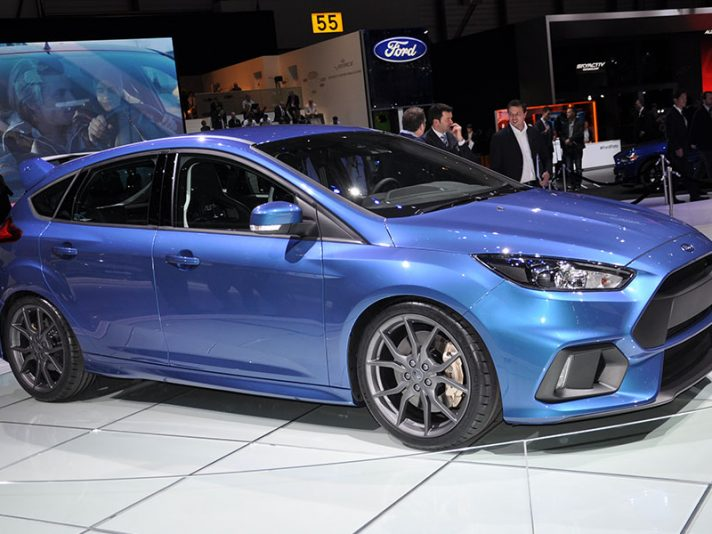 Ford Focus RS a Ginevra 2015