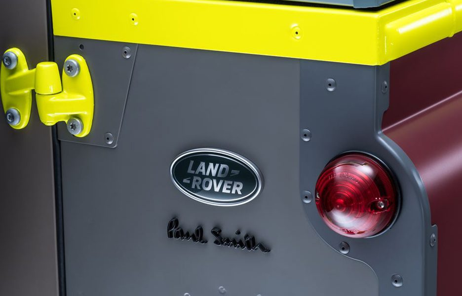 Land Rover Defender by Paul SMith 2015
