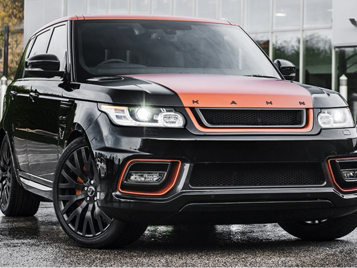 Range Rover Sport Vesuvio Luxury Edition by Kahn Design