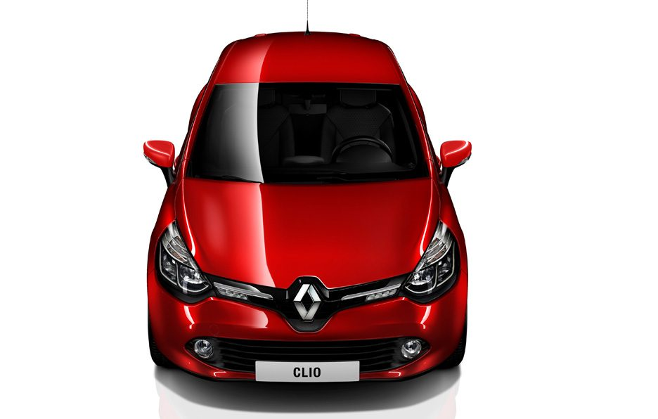 Renault Clio 2012 - Frontale alto Red