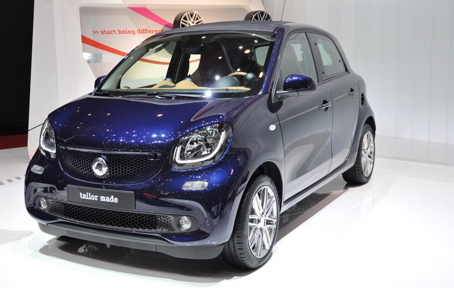 Smart forfour Brabus tailor made 2 - Ginevra 2015