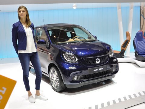 Smart forfour Brabus tailor made - Ginevra 2015