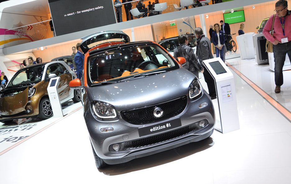 Smart forfour frontale - Ginevra 2015