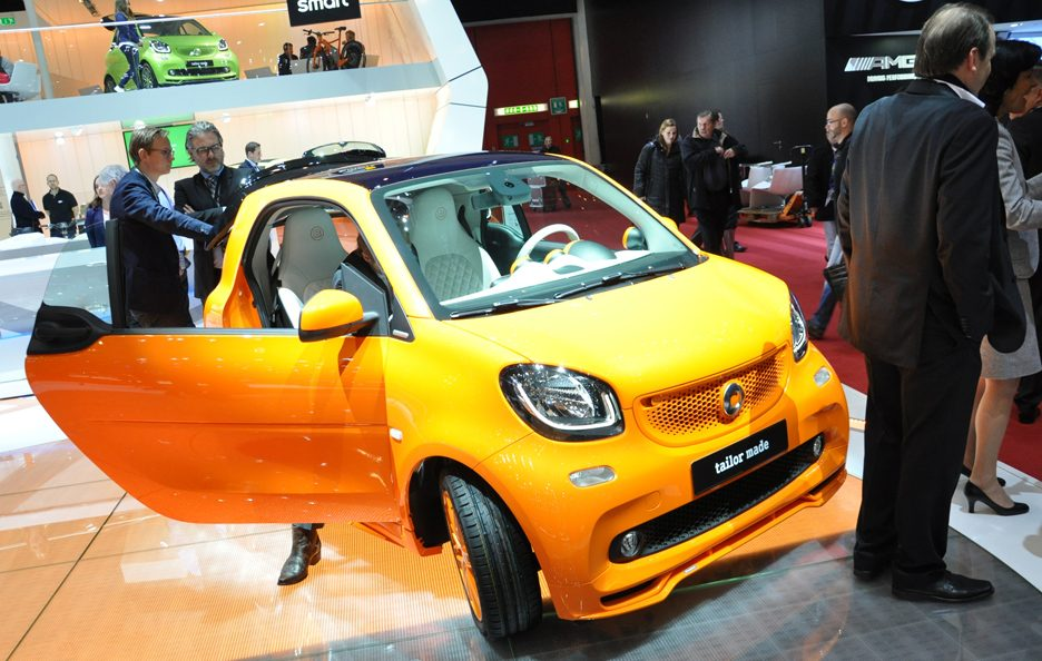 Smart fortwo Brabus tailor made - Ginevra 2015