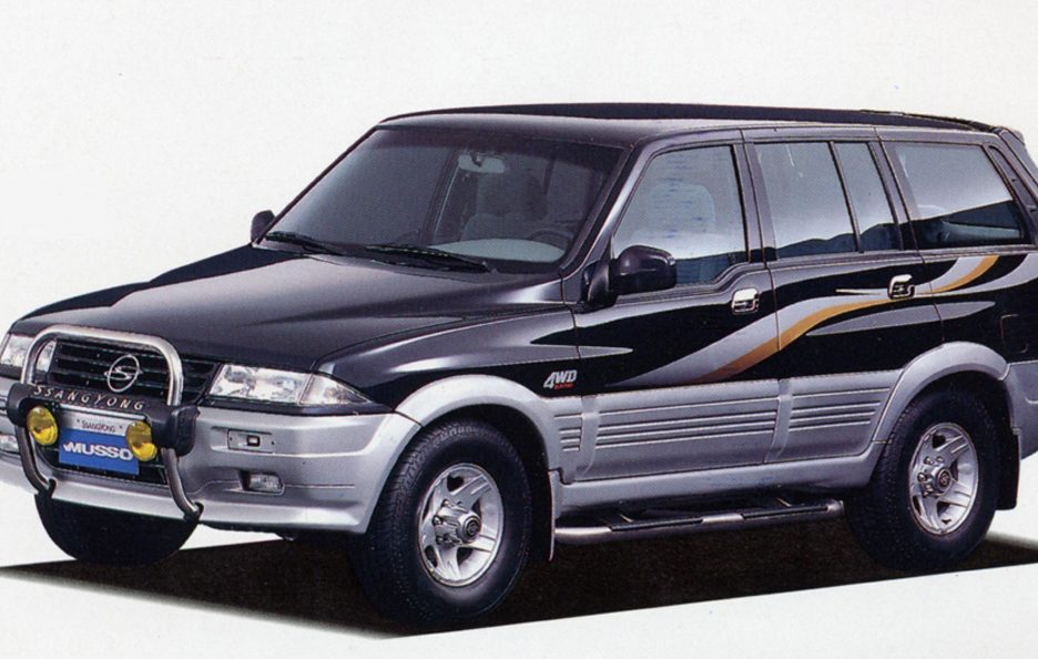 1993 - Ssangyong Musso