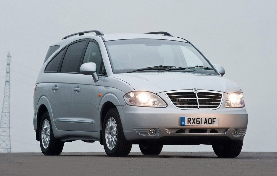 2008 - Ssangyong Rodius restyling