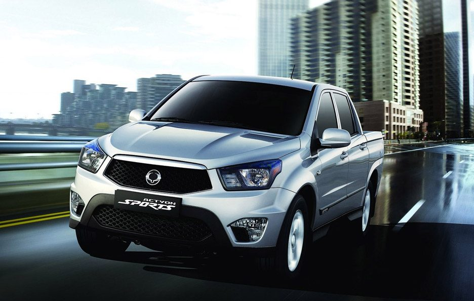 2012 - Ssangyong Actyon Sports restyling