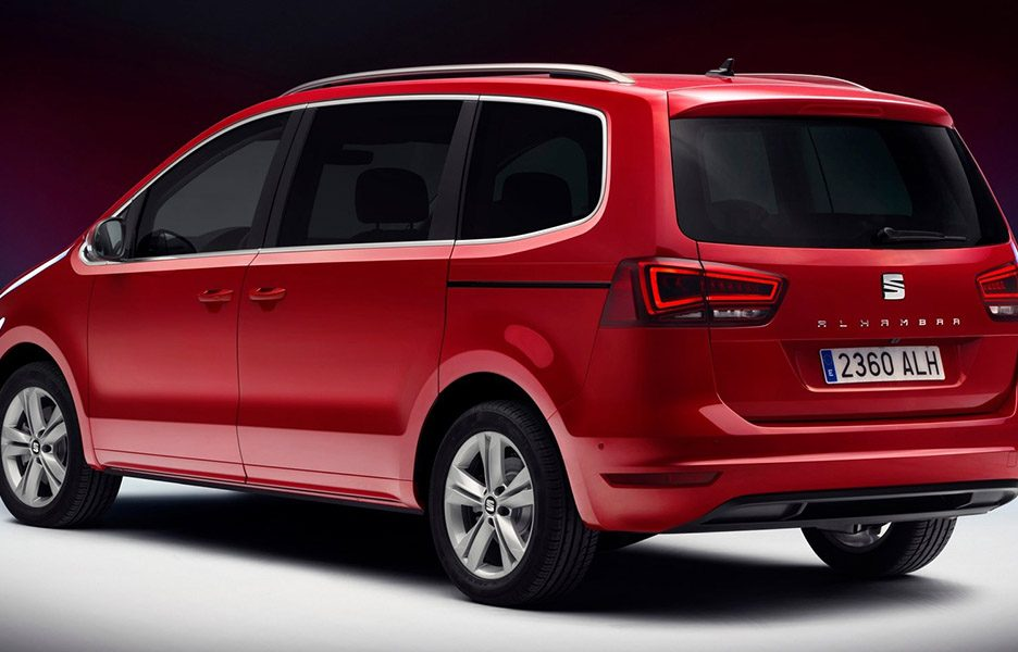 seat alhambra 2015 anteprime panoramauto. Black Bedroom Furniture Sets. Home Design Ideas
