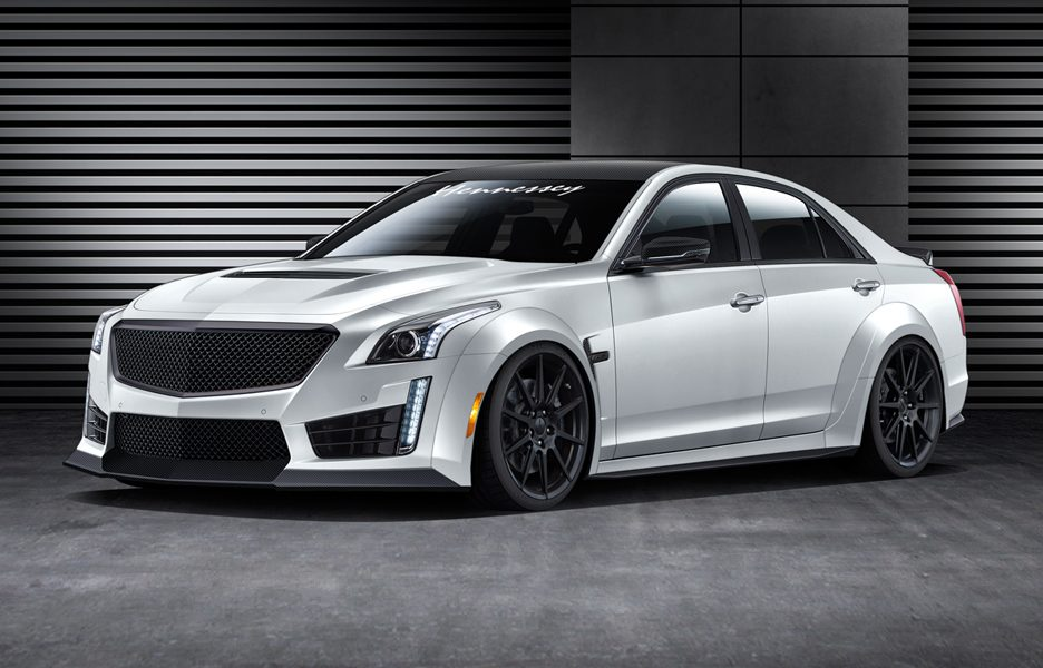 Cadillac CTSV Hennessey