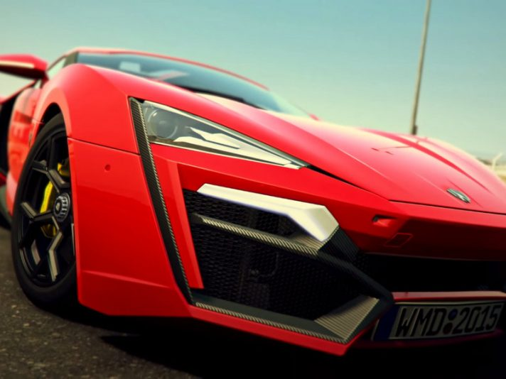 Project CARS e Fast & Furious presentano la Lykan Hypersport