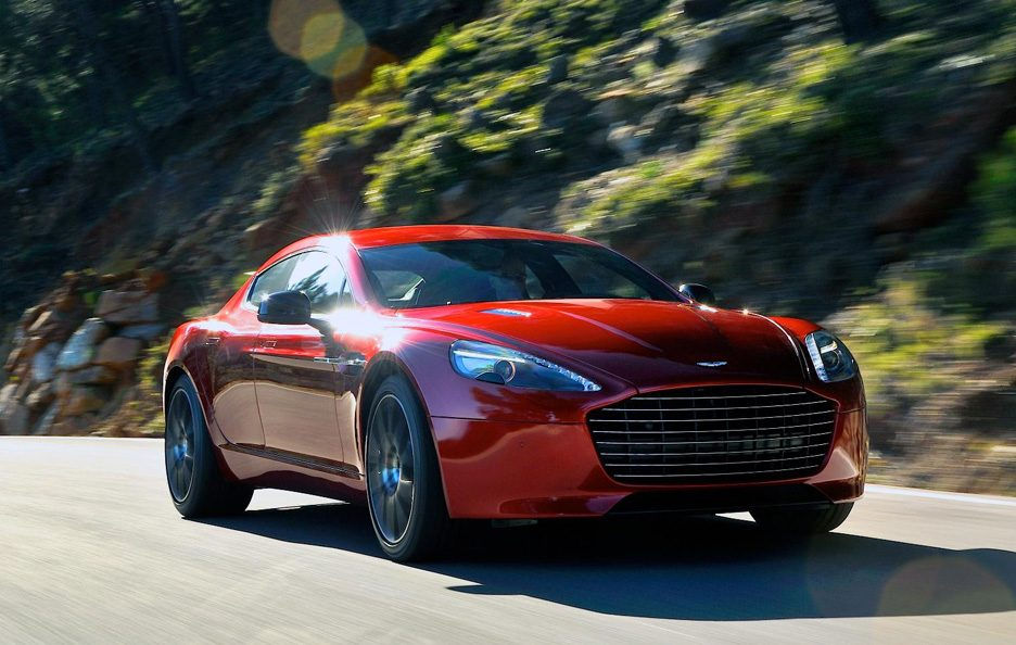 Aston Martin Rapide S - In motion