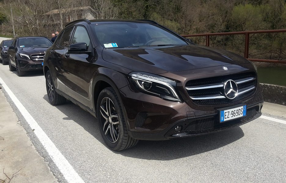 Mercedes Benz GLA Enduro