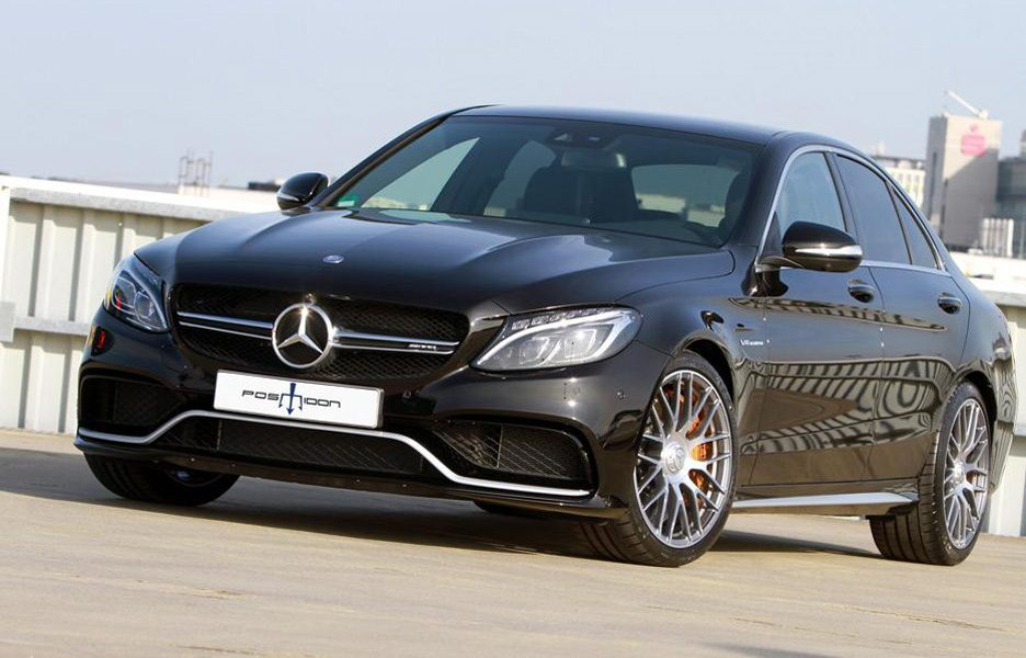 Mercedes C 63 AMG by7 Posaidon