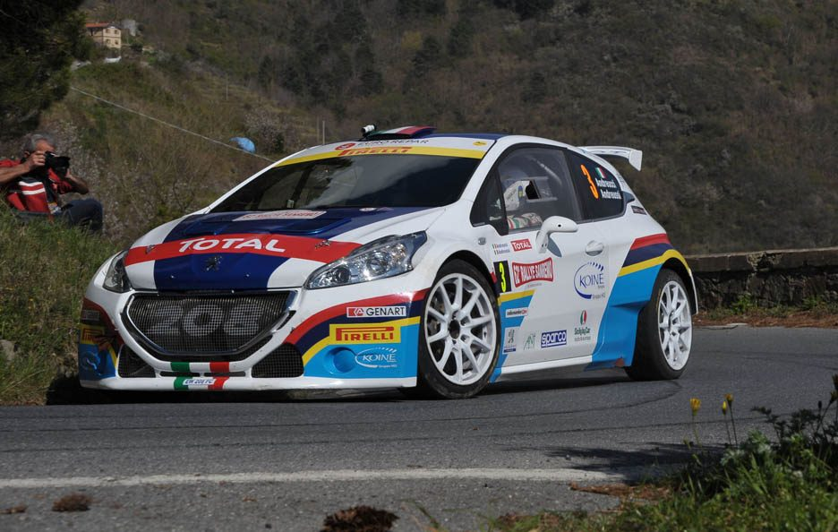 Peugeot 208 Paolo Andreucci Rally Sanremo 2015