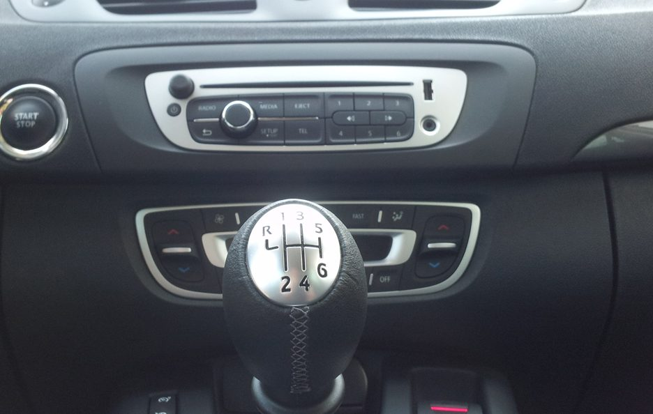 Renault Scénic XMod consolle centrale