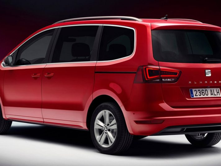 seat alhambra la prova della monovolume a 7 posti primo contatto panoramauto. Black Bedroom Furniture Sets. Home Design Ideas