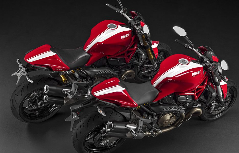 DUCATI MONSTER STRIPE RANGE