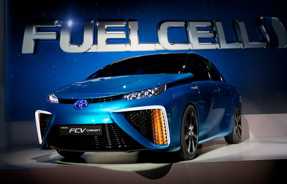 toyota fuell cell