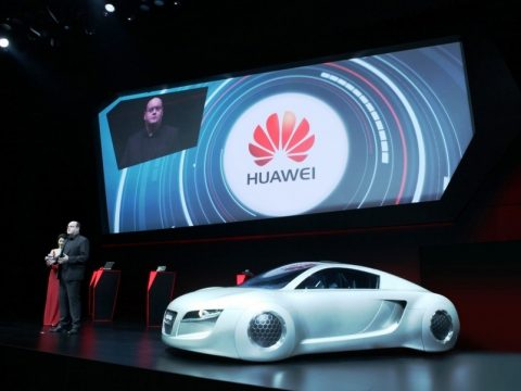 Huawei's Partnership with Audi on Interconnected Car Technology