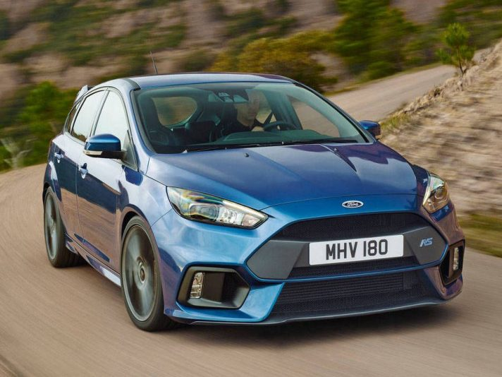 Focus RS, 350 cavalli al Festival of Speed di Goodwood