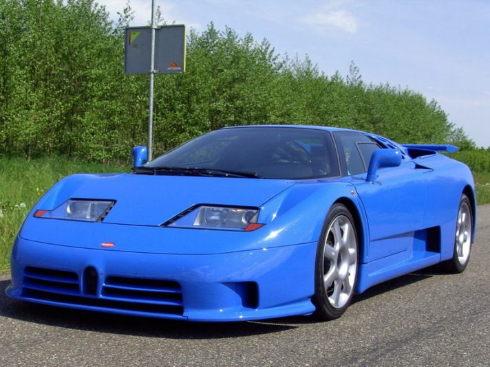 Supercar legends: Bugatti EB 110