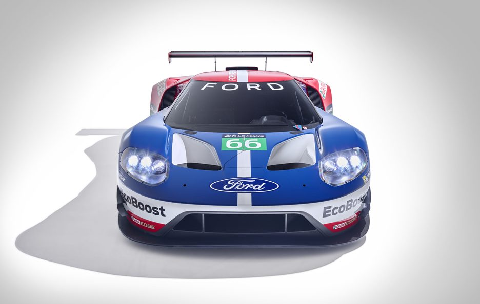 Ford GT Le Mans 2016 frontale