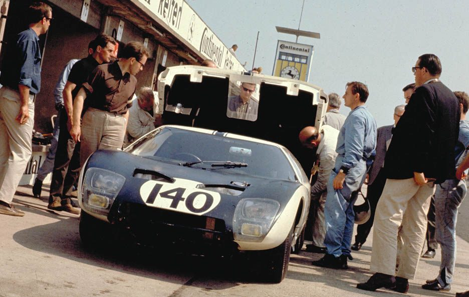 Ford GT40 frontale