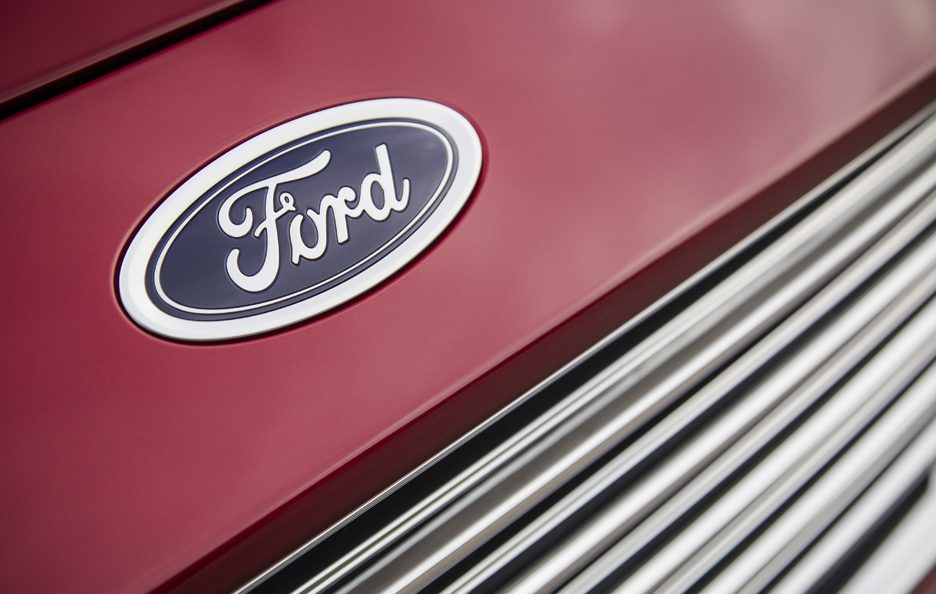 Ford Mondeo logo Ford