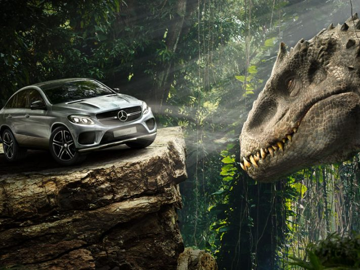 GLE Coupé, la nuova Mercedes di Jurassic World