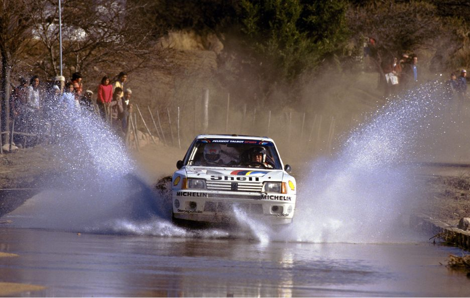 Peugeot 205 Turbo 16 frontale