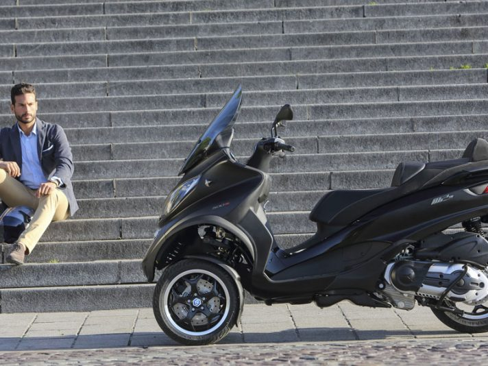 Piaggio Mp3 Tour 2015, il weekend di Roma