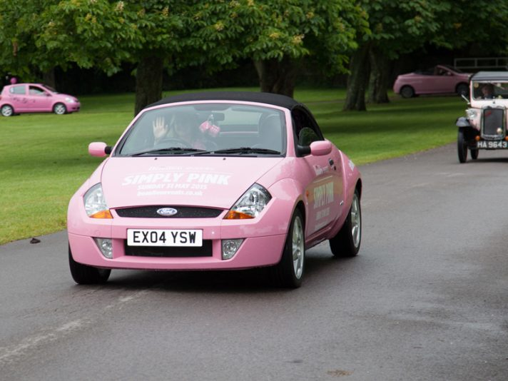 Simply Pink: il rally in rosa