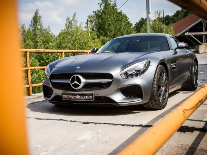 Mercedes AMG GT by McChip-DKR