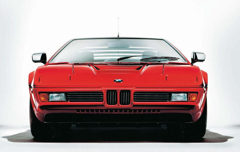 BMW M1 frontale