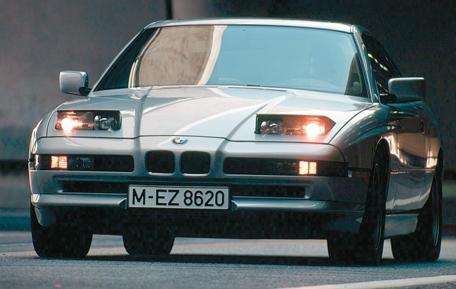 BMW serie 8 frontale