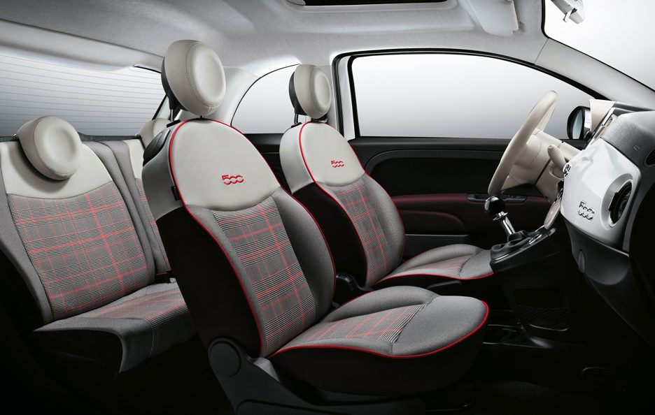 Fiat 500 restyling abitacolo