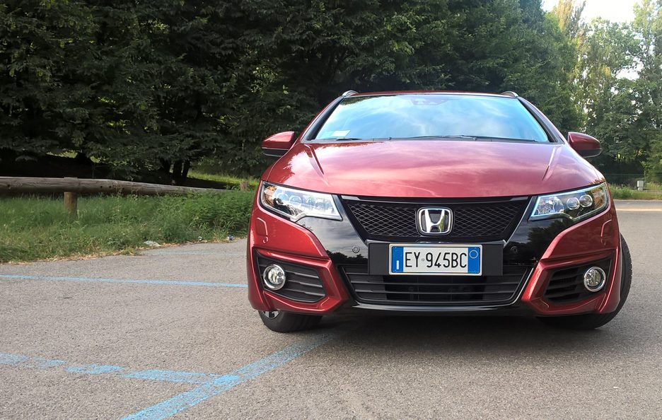 Honda Civic Tourer frontale