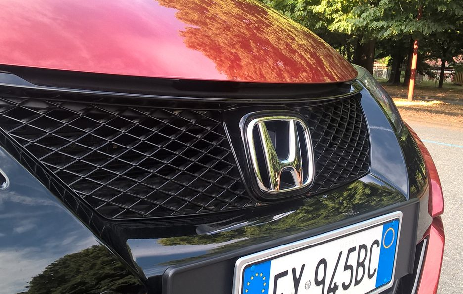 Honda Civic Tourer mascherina
