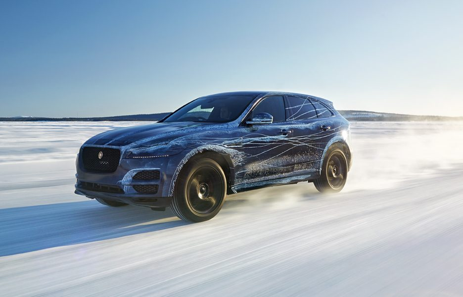 Jaguar F-Pace Spy official